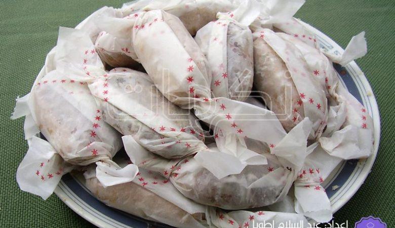 الحلوى المحتجبة بالفول السوداني