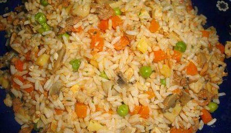 وجبة خفيفة بالأرز