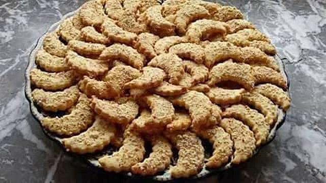 حلوى الهلال بالفول السوداني
