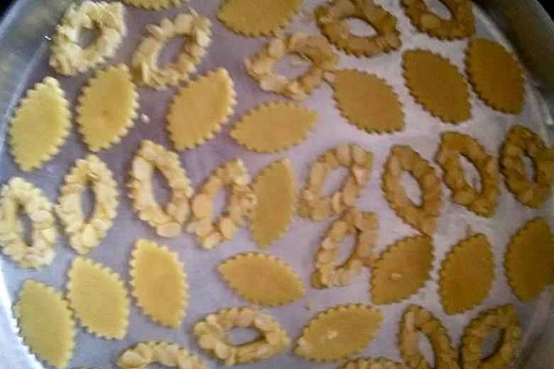 قطع الحلوى التي تم تشكيلها