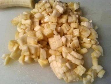 قطع الموز