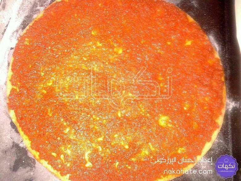 تقلية الطماطم