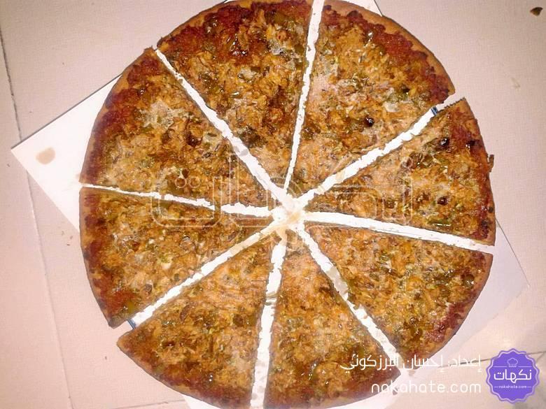 بيتزا بمكونات سهلة وبسيطة